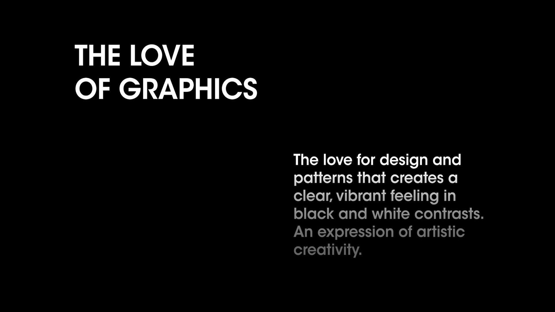 Love of Graphics