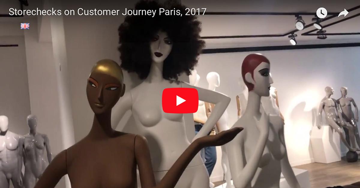Storechecks in Paris, 2017