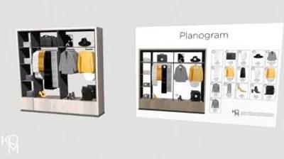 3D planogram